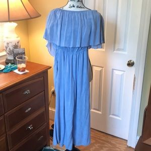 Dusty blue jumpsuit